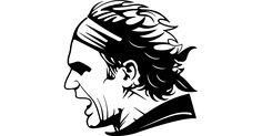 Roger Federer free vector icons designed by Business Dubai