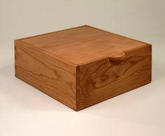 Handmade Wooden Box of Cherry by JMCraftworks on Etsy, $65.00  Keepsake box