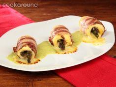 Involtini di pollo con asparagi   Cookaround