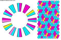 Mariposa 24 hilos 4 colores