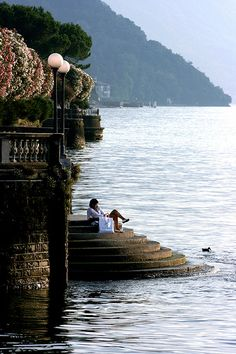 Lago di Como---ITALIA by Francesco -Welcome and enjoy- frbrun Places Around The World, Oh The Places You'll Go, Places To Travel, Places To Visit, Around The Worlds, Lac Como, Grands Lacs, Comer See, Lake Como Italy