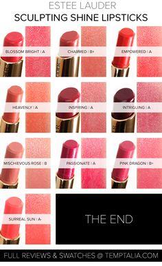 Estee Lauder Pure Lipstick Envy Couleur Sculpter Shine