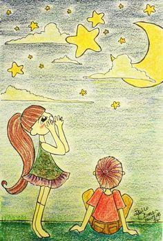 [悄悄話/ Whisper secrets] 一起出遊的那晚, 我們同時仰望著星空,欣賞夜景。 我對著星星說著悄悄話, 但其實希望你能聽到。 ———————————— That night we went out together under the starlight, we looked up into the night sky and watched it blinked its eyes. I whisperd to them my secrets, hoping they...