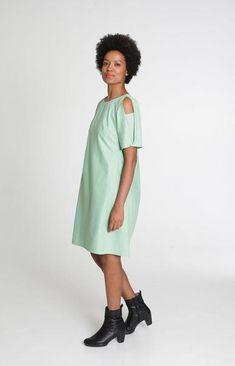 Haiku Dress Gossamer Green
