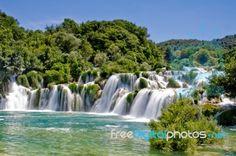 Waterfall in Krka national park Croatia. Landscape of a waterfall in Krka nation , Krka National Park Croatia, Plitvice Lakes National Park, Croatia Destinations, Croatia Travel, Yerba Mate, Krka Waterfalls, Visit Croatia, Croatia 2016, Landscaping Images