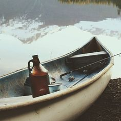 #canoe #canoeing #lake #fishing