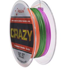 Fiblink® 4 Strand Braid Braided Fishing Line Colorful 300 yards 500yards 10lb-80 lb Test PE Fish Line * Click on the image for additional details.