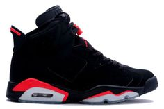 !!MOST WANTED JORDANS!! 1991 – Air Jordan VI 'Infrared' – 1991 would prove to be a career-defining year for Michael as he finished off the season by winning his first-ever NBA Championship. He certainly was in Championship form as he led all scorers with 26 points while wearing the Air Jordan VI 'Infrared', but the MVP trophy went to close friend Charles Barkley. The two led the East to a victory over the West – the East's second consecutive All-Star Game win.