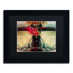 'Horizon' by Andrea Framed Painting Print