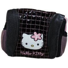 hello kitty starpoint bag - messanger with pink flower bow