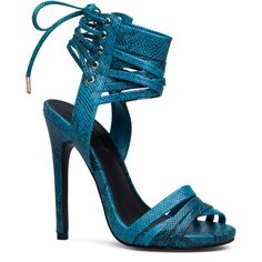 ShoeDazzle Sandals-Dressy - Single Sole Dallana Womens Blue/Blue ❤ liked on Polyvore featuring shoes, sandals, sandals-dressy - single sole, sexy blue shoes, blue shoes, blue strappy sandals, strap sandals and monk-strap shoes