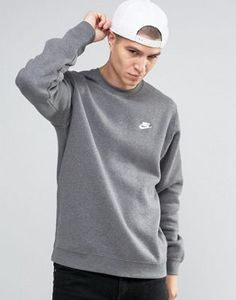 Buy Nike Sweatshirt In Grey at ASOS. With free delivery and return options (Ts&Cs apply), online shopping has never been so easy. Get the latest trends with ASOS now. Sweat Shirt, Sweatshirts Nike, Asos, Latest Trends, Graphic Sweatshirt, Pullover, Grey, Long Sleeve, Sweaters