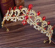 Floral Austrian Crystal Rhinestones Tiara Crown Bridal Pageant Prom Party  T27g  ea2aad033aea
