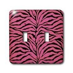pink stuff   Girlie Pink Zebra Dream Room   Pink Zebra Room Decor ...