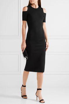 MICHAEL Michael Kors | Nyla cold-shoulder stretch-knit dress | NET-A-PORTER.COM