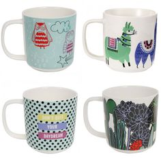 Mugs in Owl and other designs by Paperchase