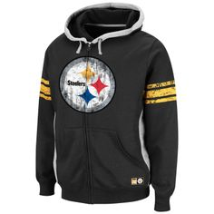 NFL Men's Intimidating V Fleece (Pittsburgh Steelers)- not a huge fan of the Steelers, but I love this design