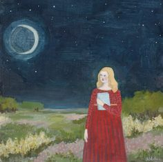 she looked to the moon for answers | amanda blake