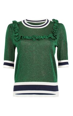 d6c9cc3630f4 Cascadia Lurex Top by BAUM UND PFERDGARTEN for Preorder on Moda Operandi  Vinter, Forår,