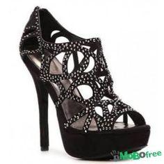 Zigi Soho Black Platform Sandals Barely worn! 5 inch heel. Zigi Soho Shoes Platforms