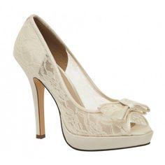 Brianna Leigh Queen Wedding Shoes - SALE