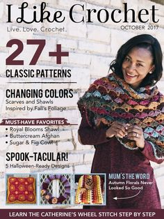 The Shell N Picots stitch pattern and Red Heart Boutique Unforgettable Yarn together creates a complicated look and beautiful texture.