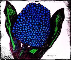 http://fineartamerica.com/featured/hyacinth-flower-marylee-parker.html?newartwork=true sale # hyacinth # pen - ink