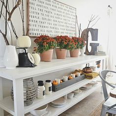 Vintage Fall Dining Room