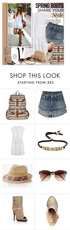 """""""Kick It: Spring Boots"""" by mada-malureanu ❤ liked on Polyvore featuring Olsenboye, Carven, Ettika, Express, Vince Camuto, Belstaff, women's clothing, women's fashion, women and female"""