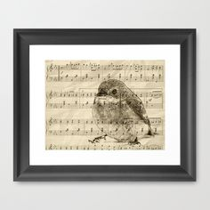 Songs of Birds Framed Art Print