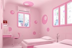 Pink bedroom design pink room decor chic pink bedroom design ideas for fashionable girl bedroom pink . Pink Bedroom Design, Teenage Girl Bedroom Designs, Bedroom Wall Designs, Girls Room Design, Teenage Girl Bedrooms, Shared Bedrooms, Girl Rooms, Light Pink Bedrooms, Pink Bedroom For Girls