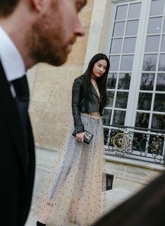 Wearing Dior