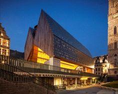 Architectura - Mies van der Rohe-Award 2013 naar Henning Larsen en Olafur Eliasson, stadshal Gent verdienstelijk finalist