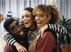 latenitelevision:   Jasmine Guy, Kadeem Hardison and Cree Summer in A Different World (1987)