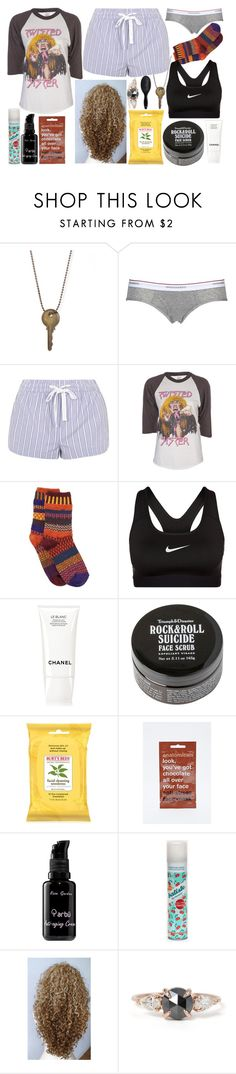 """Untitled #134"" by queenfangirl ❤ liked on Polyvore featuring мода, Dsquared2, Topshop, Vintage, Solmate Socks, NIKE, Chanel, Burt's Bees, Anatomicals и arbÅ«"