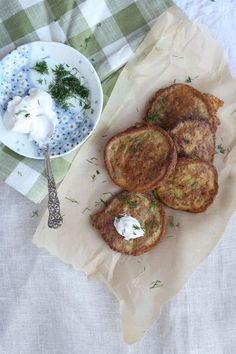 Kuku Sibzamini - Saffron Potato Fritters in the Persian Manner... from my favorite food blog - THE SPICE SPOON