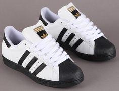 ADIDAS SUPERSTAR WHITE BLACK  041 adidas Superstar Skate   White / Black / Metallic Gold