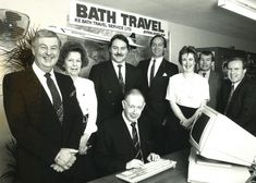 Peter bath's company Bath travel also used concorde planes and regular long hauls to new distant destinations such as the carribean and new york, something that bournemouth never had access to. Bath Travel, Bournemouth, Long Haul, Concorde, Planes, Aviation, Destinations, York, History