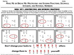 math worksheet : 1000 images about math multiply divide fractions on pinterest  : Math Worksheets With Answer Key
