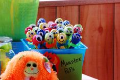 Little Monsters Birthday Party Ideas | Photo 4 of 43 | Catch My Party