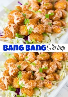 Low Carb Recipes To The Prism Weight Reduction Program Bang Shrimp Recipe - Crispy Fried Shrimp That Is Tossed In A Sweet, Spicy, And Tangy Sauce. The Ultimate Appetizer That Will Soon Become Your Dinner Fried Shrimp Recipes, Seafood Recipes, Cooking Recipes, Healthy Recipes, Copycat Recipes, Macaroni Recipes, Shellfish Recipes, Salmon Recipes, Healthy Eats