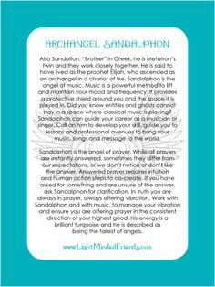 Printed on laminated, linen card stock. You get an Archangel cards included with our Archangel crystal bracelets, or they're available as a set of seventeen cards! Angel Guidance, Spiritual Guidance, Archangel Sandalphon, Archangel Prayers, Divine Light, Angel Numbers, Angel Cards, Guardian Angels, I Believe In Angels