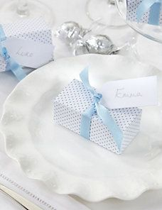 Create Your Own Chocolate Truffle Wedding Favours in a Polka Dot Box with Blue Ribbons - Pack of 25 4 Tier Wedding Cake, Wedding Cakes, Chocolate Truffles, Favor Boxes, Wedding Favours, Blue Ribbon, Blue Wedding, Afternoon Tea, Wine Recipes