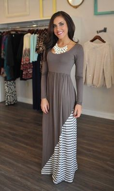 Cute Modest Dress Outfit