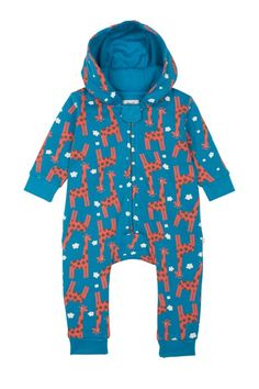 Snuggle Suit - Giraffes | coats & pramsuits | view all baby & toddler | baby & toddler from Frugi