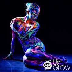 These amazing UV face and body paints will make any night out clubbing spectacular with the awesome effects