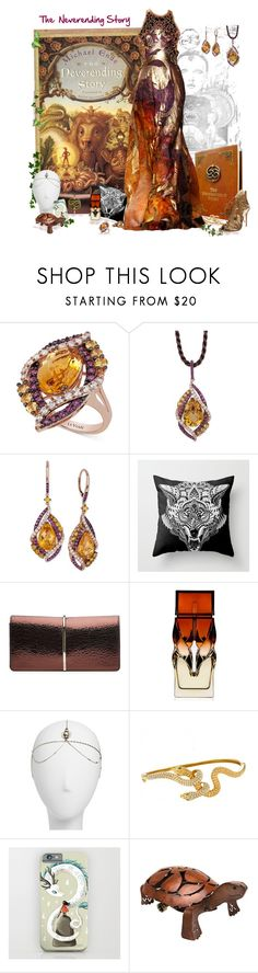 """""""The Neverending Story"""" by love-n-laughter ❤ liked on Polyvore featuring LE VIAN, Nina Ricci, Christian Louboutin, Berry, Saint Tropez and Casadei"""