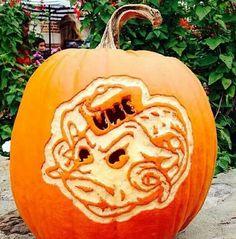 Perfect pumpkin carving