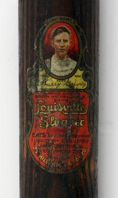 vintage Louisville Slugger decal