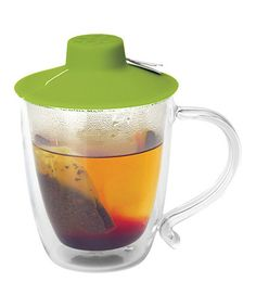 Take a look at this Green Tea Bag Buddy by Primula on #zulily today! No more scalded fingers.